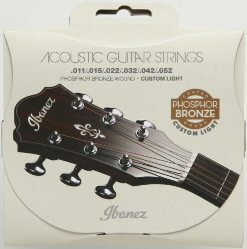 Ibanez Akustikgitarre Phosphor Bronze Saitensatz IACSP6C IACSP61C IACS62PC