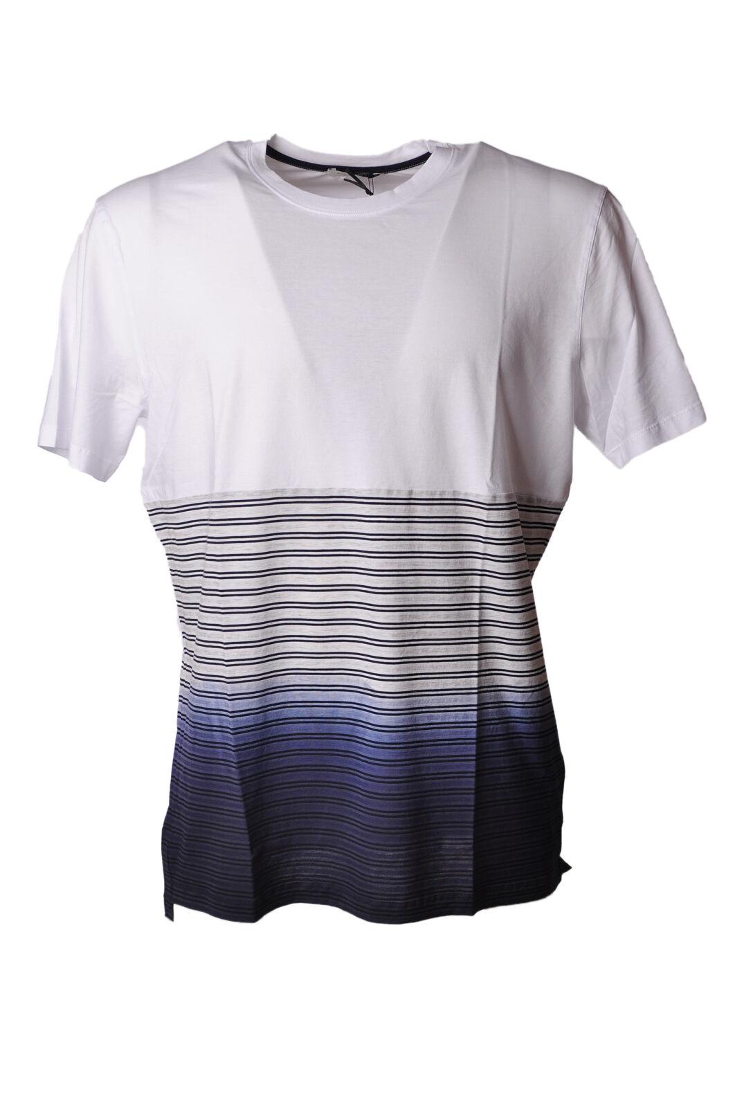 Paolo Pecora - Topwear-T-shirts - Man - Weiß - 4718004E181520