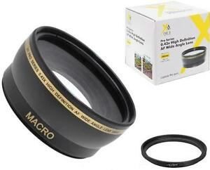 58mm Wide Angle Lens for Sony Cyber-Shot DSC-H400 DSC-HX400 DSC-HX300