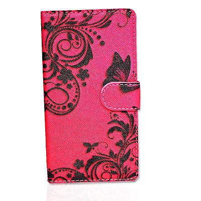 Design PBB Book Tasche Cover Case Handy Schutz Hülle Etui für Huawei Ascend G525
