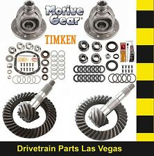 Motive Dana 35 + 30 Gear Set Pkg w Master Kit 4.56 Ratio + Open Carriers F + R