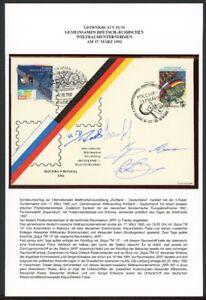 Gedenkblatt Deutsch-Russisches Weltraumunternehmen MIR `92 (RF5280