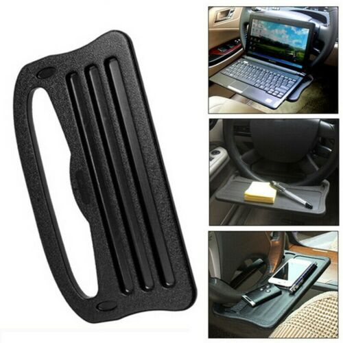 Car Steering Wheel Tray Cup Holder Laptop Desk Chair Dining Table For IPad Ku