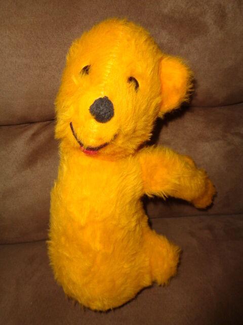 Winnie the Pooh Bear Vintage Stuffed Plush Unusual RARE toy