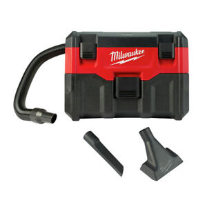 Milwaukee 0880-22 M18 Li-Ion 2 Gal. Wet/Dry Vacuum (Tool Only) New