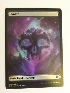 Theros Beyond Death Magic The Gathering *FULL ART* SWAMP x5