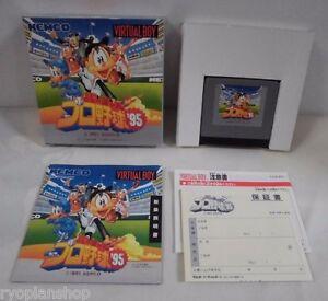 VB-Virtual-Pro-Baseball-039-95-New-amp-Unused-Box-Virtual-Boy-JAPAN-15334