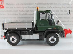 Busch-50920-Mercedes-Benz-Unimog-u-430-2013-con-cabrestante-1-87-h0-nuevo-en-el-embalaje-original