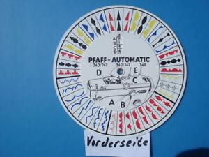 Pfaff-260-262-360-362-amp-368-Automatik-Nahmaschine-Musterscheibe-Schablone