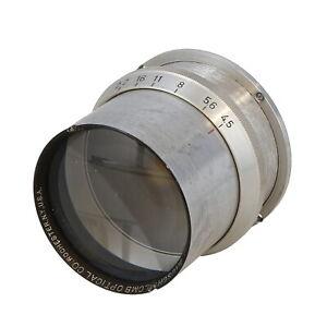 Vintage-Bausch-and-Lomb-Optical-CO-10-034-e-f-f-4-5-Process-Barrel-lens-UG