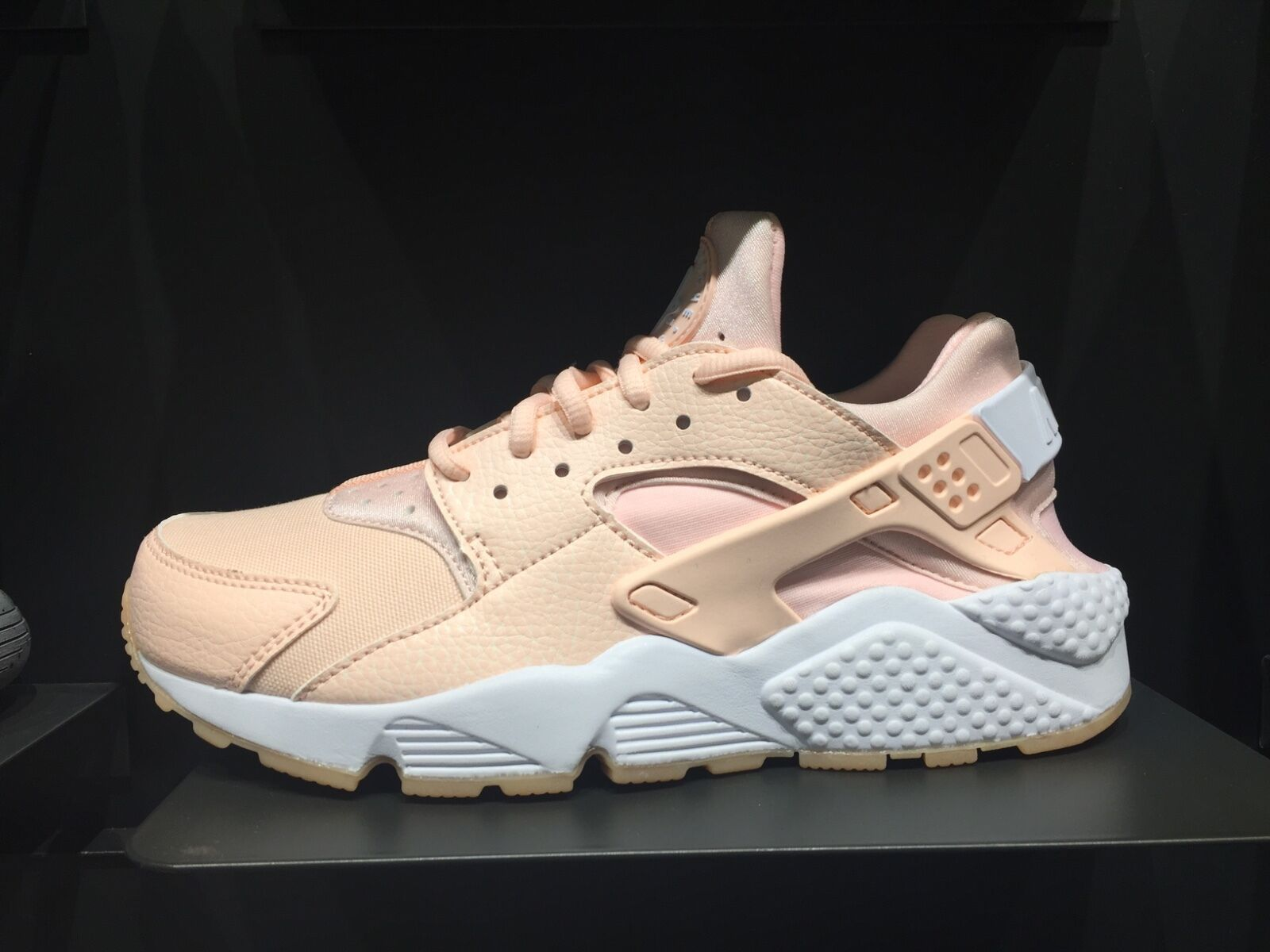 NIKE AIR HUARACHE RUN Pink wheat gum RED FLORAL 6 - 12 sunset white black Beige