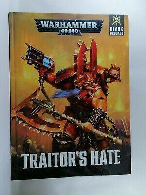 Bellissimo Traditore Odio (rilegato) - Warhammer 40,000 Libro-games Workshop-mostra Il Titolo Originale Saldi Estivi Speciali