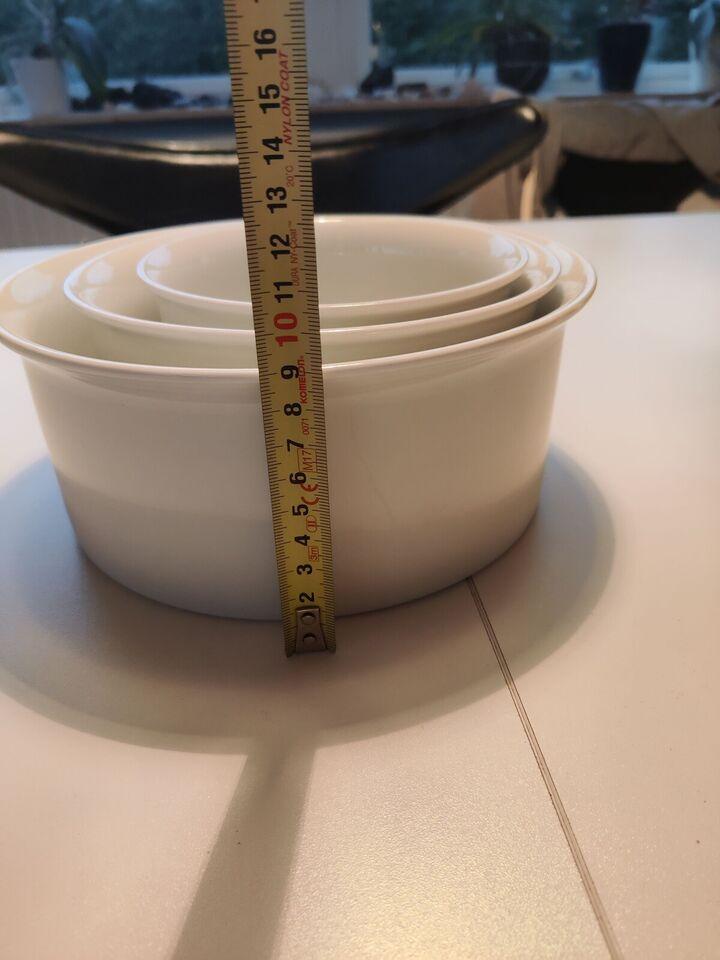 Porcelæn, Skålesæt