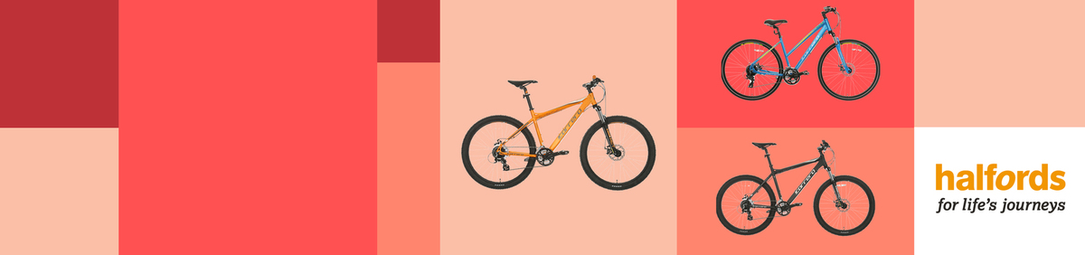 Shop event 20% off Adult Bikes From the Official Halfords eBay store.