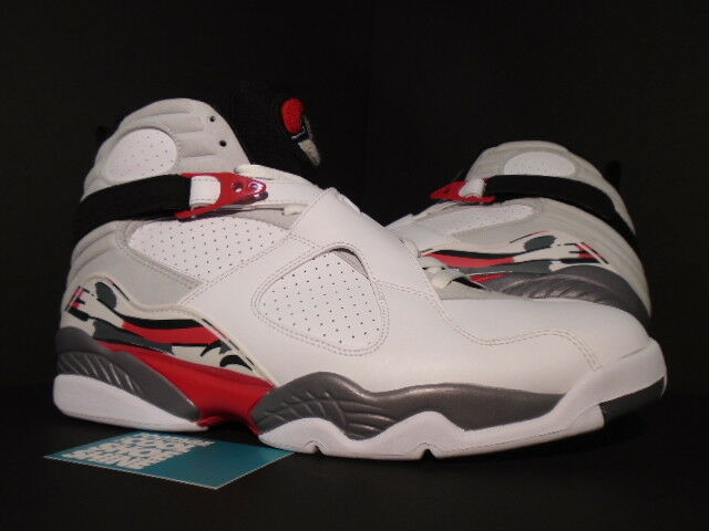 2018 Nike Air Jordan VIII 8 Retro CDP COUNTDOWN BUGS BUNNY WHITE BLACK RED DS 13 The most popular shoes for men and women