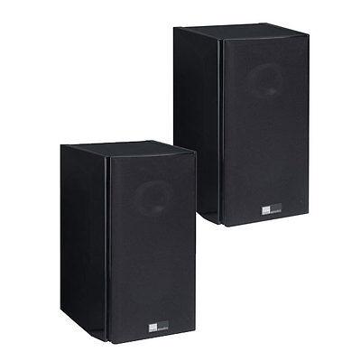 Pure Acoustics Dream S schwarz Paar 2-Wege Surround-Lautsprecher 150 Watt (RMS)