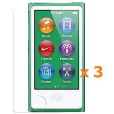 3 x Apple iPod Nano 7th Generation 7G Screen Protector Anti-Glare Antiglare