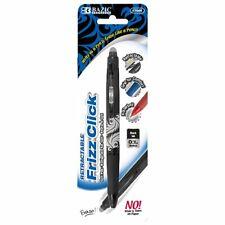 Frizz Black Erasable Gel Retractable Pen With Grip