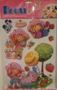 Details About Strawberry Shortcake Room Decor Stickers Wall Use On Walls Mirrors Desks