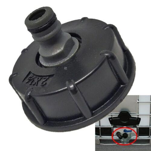 1Pc nouveau IBC tuyau adaptateur réducteur connecteur réservoir d/'eau raccord 2