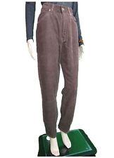 Gianfranco FERRE Womens BN Boyfriend Vtg Cord Brown Trousers Pants sz W29 M AN77