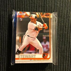 Details About 2019 Topps 1 2 Baltimore Orioles Team Set 24 Cards Dj Stewart