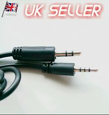 NEW Replacement harman/kardon BT- PREMIUM HEADPHONES Audio cable 3.5mm-2.5mm AUX