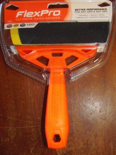 FlexPro Ultimate Hand-Sanding Tool Starter Kit with 3 Sanding Sheets