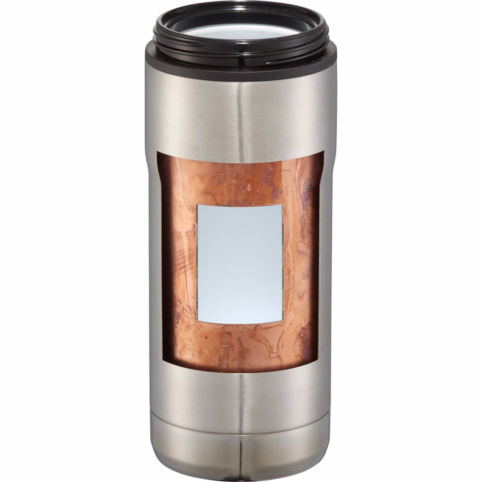 4 QTY 18 8 Copper Vacuum TumblerS w Ceramic Lining 20oz TRAVEL Work office GIFT