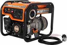 Mech Marvels 1500 Watt Quiet Portable Hybrid Dual Fuel Gas Powered Generator