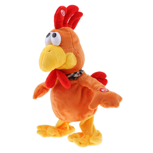 Children Electric Pet Singing Dancing Doll Chicken Figure for Christmas Gift
