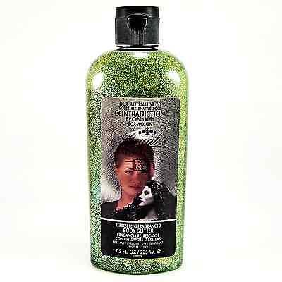 Green Body Glitter + Perfume 2-in-1 Gel w/Name Brand Imitation Fragrance_183-16G