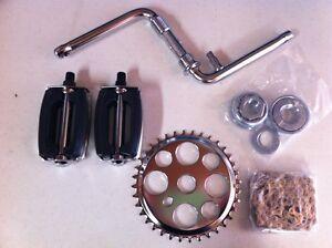 CRANK-PACKAGE-5-ITEMS-FOR-20-034-BIKES-BEACH-CRUISER-LOWRIDER-BMX-CHOPPER-CYCLING