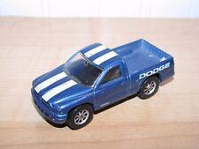 Maisto Tonka Dodge Dakota Pickup Truck Blue with White Stripes 1:64