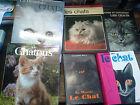 Lot de 6 livres sur Les chats : le chat / Fernand Méry - aimer et connaître les