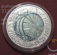 25 Euro Niob 2013 - Österreich - Tunnelbau