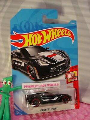 neu in OVP Corvette C7 Z06 Then and Now HOT WHEELS 2018 48