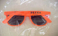 Reyka Vodka Iceland Orange Advertising Sunglasses Sun Glasses