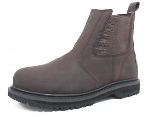 Safety-Boots-Cheap-Work-Boots-Steel-Toe-Cap-Trainers-Slip-On-Beige
