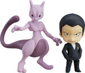 Pokemon Sakaki /& Mewtwo Nendoroid //Good Smile Action Figure