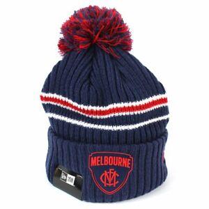 New Era - Melbourne Demons Team Colour Pom Knit Beanie