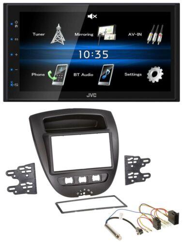 JVC 2din Bluetooth mp3 aux USB autoradio para peugeot 107 citroen c1 Toyota Aygo