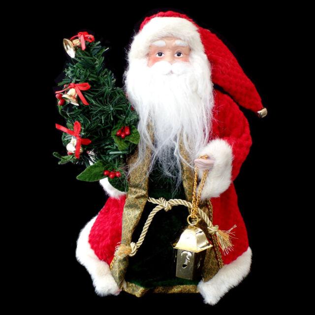 Christmas Tree Toppers Santa: Santa Claus Head Christmas Tree Topper For Sale Online
