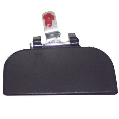 Textured Rear Right Exterior Passenger Side RH New Outside Door Handle Black