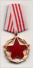 ALBANIA  - Order for good service in state, 3rd Class -  Communist era