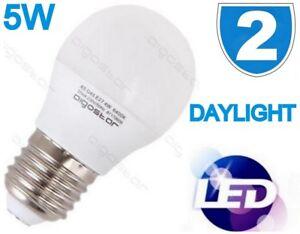 2x-Led-5W-Spot-E27-Es-Balle-de-Golf-Mini-Globe-Ampoule-Lampe-Lumiere-Jour-Blanc