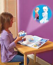 Disney FROZEN MOVIE THEATER PROJECTOR BOOK Toy Movie 5 Discs Anna Elsa Olaf Hans