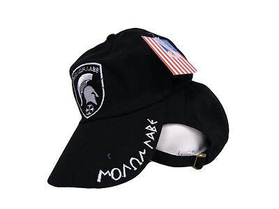 37a23a046a5 Black Molon Labe Come and Take it Greek Spartan 300 Ball Shadow Cap Hat (RUF