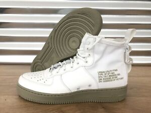 049a7082fa Nike SF AF1 Mid Special Field Air Force 1 Ivory Olive Green SZ ...