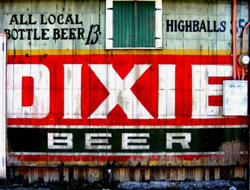 """DIXIE BEER STORE SIDE 9/"""" x 12/"""" Sign"""
